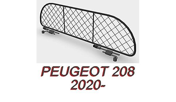 Rete Divisoria per auto PEUGEOT 208 per trasporto cani e bagagli Divisorio