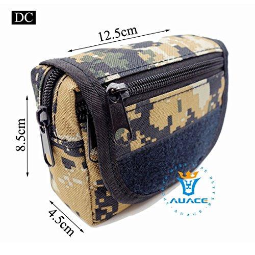 Multifunktions Survival Gear Tactical Beutel MOLLE POUCH Klettverschluss-Karte Tasche, Outdoor Camping Tragbare Travel Bags Handtaschen Werkzeug Taille Bag Handy Pouch DC