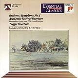 Brahms : Symphonie n° 4 - Ouverture pour une fête académique - Ouverture tragique