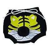 Bild: Hundeschutzhöschen Tiger schwarz von Doggydolly