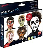 Smiffy's, Palette da trucco per Halloween, con spugnetta e applicatore