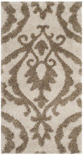 Safavieh Shag Collection sg469–1113creme und beige Bereich Teppich, 2'7,6cm X 4'