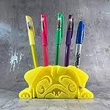 Pug Pen/Pencil Pot 3D Printed - Desk Tidy - Dog Lover