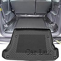 Car Lux AR00954 - Alfombra Bandeja Cubeta Protector cubre maletero a medida con antideslizante