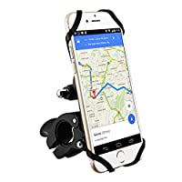 Bike Phone Holder, Magnetic Universal Bike Phone Mount holder for Motorcycle/Bike Handlebars, Compatible with iPhone 7/7 Plus/6/6s Plus/5/5s and Other Phone or GPS Device