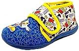 ARNETTA DISNEY TOPOLINO pantofole, scarpette da bimbi mod.S18205 ROYAL immagine