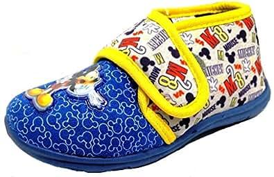 ARNETTA Disney Topolino Pantofole, Scarpette da Bimbi MOD.S18205 Royal (20)