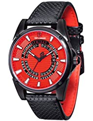 DETOMASO Herren-Armbanduhr Business Punk Man'S Man Young Guns Analog Quarz DT-YG105-C