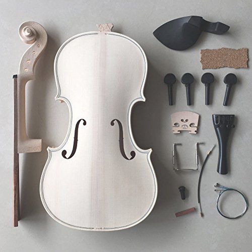 CJ Stephen Music Supplies Violin Making Kit Great Gift / Home Hobby Idea All Parts Included