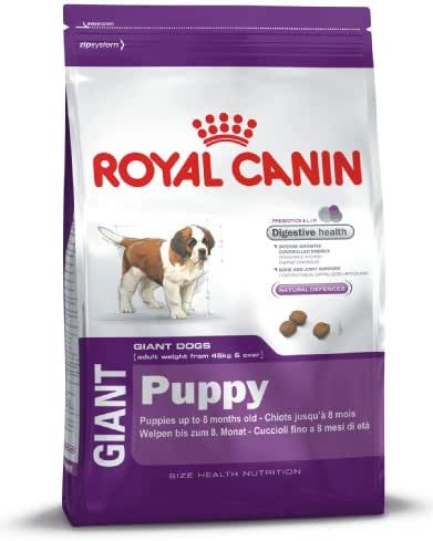 Royal Canin : Croquettes Chiot Shn Giant : 15 Kg