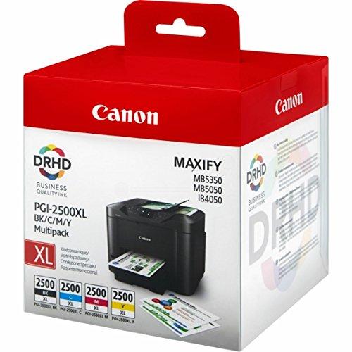 Canon 9254B004 cartuccia d'inchiostro MultiPack per Maxify iB 4020/4050/MB 5000 Series/5020/5050/5320/5350