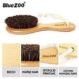 LCLrute Upgrade Drop Schiff Brosse de massage en bambou pour le visage Taille portable Nettoyage visage massage visage nettoyage produit soin de la peau jaune