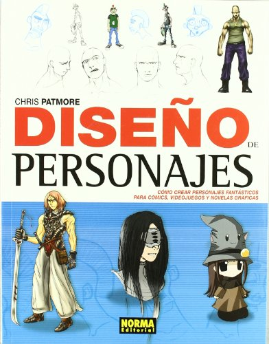 Diseno de personajes / Character Design Studio: Como crear personajes fantasticos para comics, videojuegos y novelas graficas / Create Cutting-edge Cartoon Figures for Comicbooks, Computer Games, an