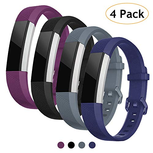 Vitty for Fitbit Alta/Alta HR Wrist Straps for Women and Men, Fitbit  Alta/Alta Bands Adjustable Replacement Silicone Sport Wristband for Fitbit
