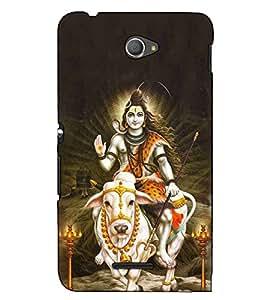 Fuson Designer Back Case Cover for Sony Xperia E4 :: Sony Xperia E4 Dual (Shankar Bhagvan on nandi )