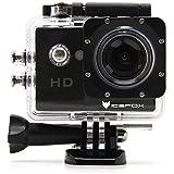 Action Cam,icefox® FHD Unterwasserkamera, 12MP, 1080P, Wasserdichte HD Kamera mit 170° Weitwinkel,900mAh Akku und Zubehör Kitt für zum Tauchen, zumFahrrad fahren, zum Motorrad fahren und zum Schwimmen