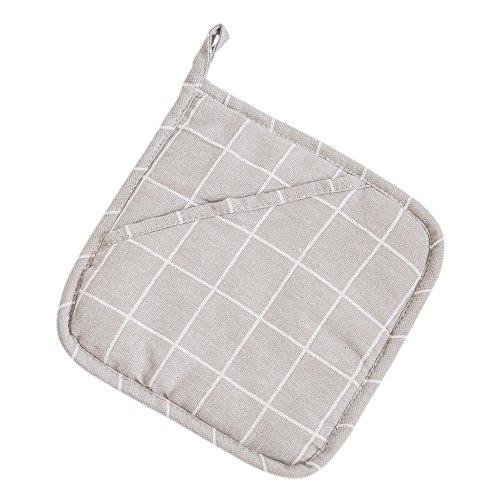 QWERWHH Repassage Tapis Anti épaississement Rembourrage Isolant Mat Mat 20cm,Carré Gris