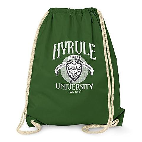 TEXLAB - University of Hyrule - Turnbeutel, dunkelgrün