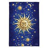 GRAPHICS & MORE Graphique et Plus céleste Suns Lune étoiles filantes Jardin Yard Drapeau (Pole Non Inclus)