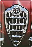 Alfa Romeo Front Italy Car Auto Blechschild 20 x 30 Retro Blech 1686