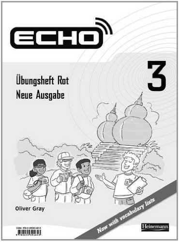 Echo 3 Rot: Rot Workbook (pack de 8 unidades)