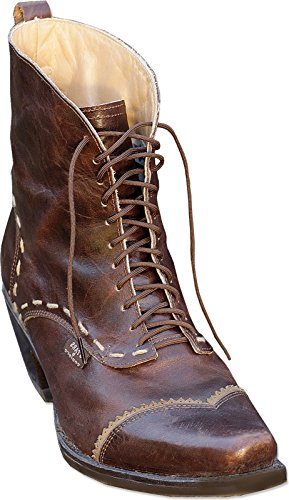 Stars & Stripes Damen Western-Boots »ASHLEY« Braun (38) (Rindsleder Western-boot Braun)