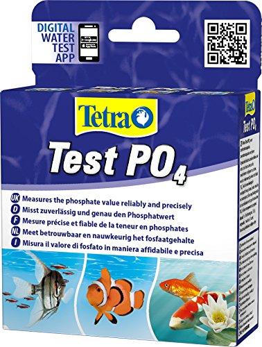 Tetra Test PO4 (Phosphat) (Wassertest für Süß- und Meerwasseraquarien, misst zuverlässig und genau den Phosphatwert)