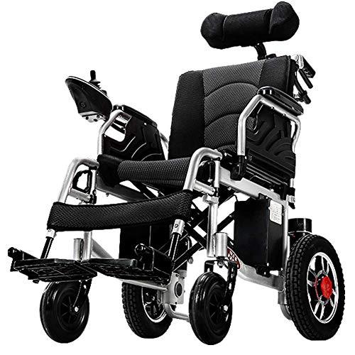 Lsmaa Multi-Funktions-Elektro-Rollstuhl Leichtklapp intelligente automatische Elderly Behinderte Scooter elektromagnetische Bremse