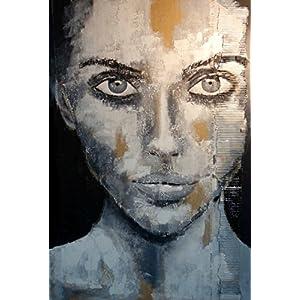 Portrait black & white Kunstdruck auf Acrylglas XL groß exclusiv Geschenk Hauseinweihung 50 x 70 cm