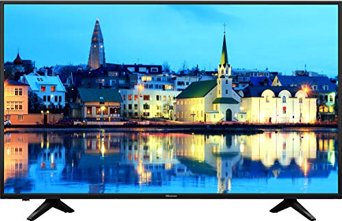 HISENSE H32AE5500 TV LED HD, 1366 x 768 Pixel, Natural Colour Enhancer, Quad Core, Smart TV VIDAA U, Crystal Clear Sound 12W, Tuner DVB-T2/S2 HEVC, Wi-Fi