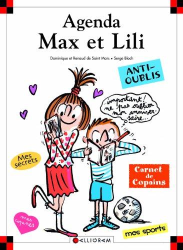 Agenda Max et Lili par Dominique de Saint Mars, Serge Bloch