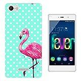 002367 - Cool Fun Love Flamingo Design Wiko Fever special