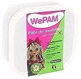 WePAM - PFWBBBN-145 - Lufthärtende Modelliermasse, 145 g, Weiß