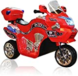 #7: Stylezone Battery Operated Bike (red)