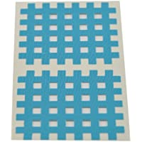 Kinseologie Gittertape 5,2 cm x 4,4 cm 10 Bögen in Blau, Cross Patches, Cross Tape preisvergleich bei billige-tabletten.eu