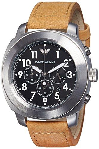 20e4251dd10c Armani Reloj de Pulsera Hombre cronógrafo Cuarzo Piel ar6060