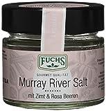 Fuchs Murray River Salt mit Zimt & Rosa Beeren (australisches Gourmetsalz), 2er Pack (2 x 57 g)