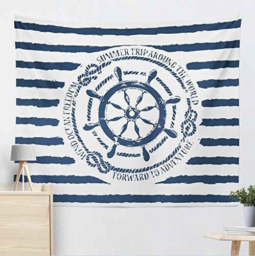 BKPH Nautische Haupttapisseriewandbehang-Strandtuch-Sitzdecken-Sonnenschutz-Tuch des Mittelmeerankers, 2, 200 * 150