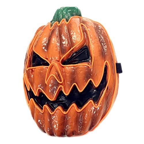 Kürbis Halloween Maske - song rong Halloween Glowing Kürbis
