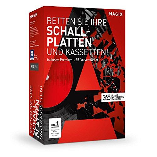 MAGIX Retten Sie Ihre Schallplatten & Kassetten! – Version 2017 – Aufnehmen. Digitalisieren. Optimieren. Software und Hardware!