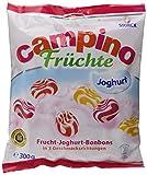 Storck Campino Früchte Joghurt – Fruchtig-erfrischende Lutschbonbons in verschiedenen Geschmacksrichtungen und mit mildem Joghurt – 15 x 300 g Beutel