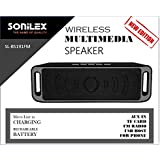UNIq Sonilex Supreme Quality Bluetooth WITH EXTRA BASS Multimedia Wireless Speaker. Can Directly Play Music From USB/TF-card/Line-in Cable/all Kind Of Audio Devices Through Line In Cable. With Rechargeable Battery Standby: Around 5 Hours. Latest Edition O