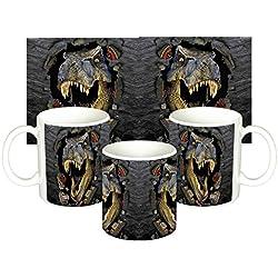 Parque Jurasico Jurassic Park E Taza Mug