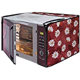Glassiano Printed Microwave Oven Cover for IFB 25 L Convection Model (25SC4 Metallic Silver)