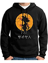 35mm - Sudadera Con Capucha Goku Dragon Ball, Unisex