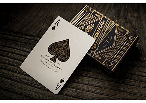 iele Monarchs Black Deck by Theory11 ()