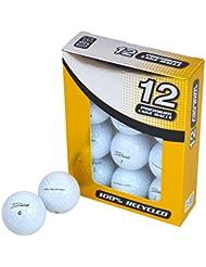 Second Chance PROV-12-GRA-Tour - Lote de 12 bolas de golf recuperadas de lagos Titleist Pro V1