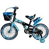 Kinderfahrrad 16 Zoll Kinder Fahrrad Spielrad Rad Jungen blau STEM BIKE