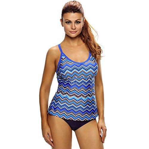 mode - bikini - retro - print - schleuder badeanzug,xl: Amazon.de: Sport &  Freizeit
