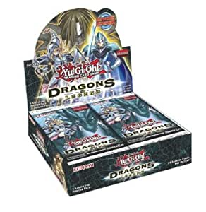 YuGiOh! Dragons of Legend 24 Booster Display